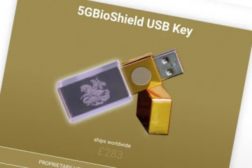 $350 USB Stick That Claims to Block 5G Is Actually a $6 Generic Thumb Drive