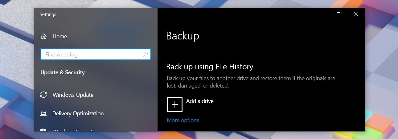 How To Use Windows 10 File History To Make Secure Backups