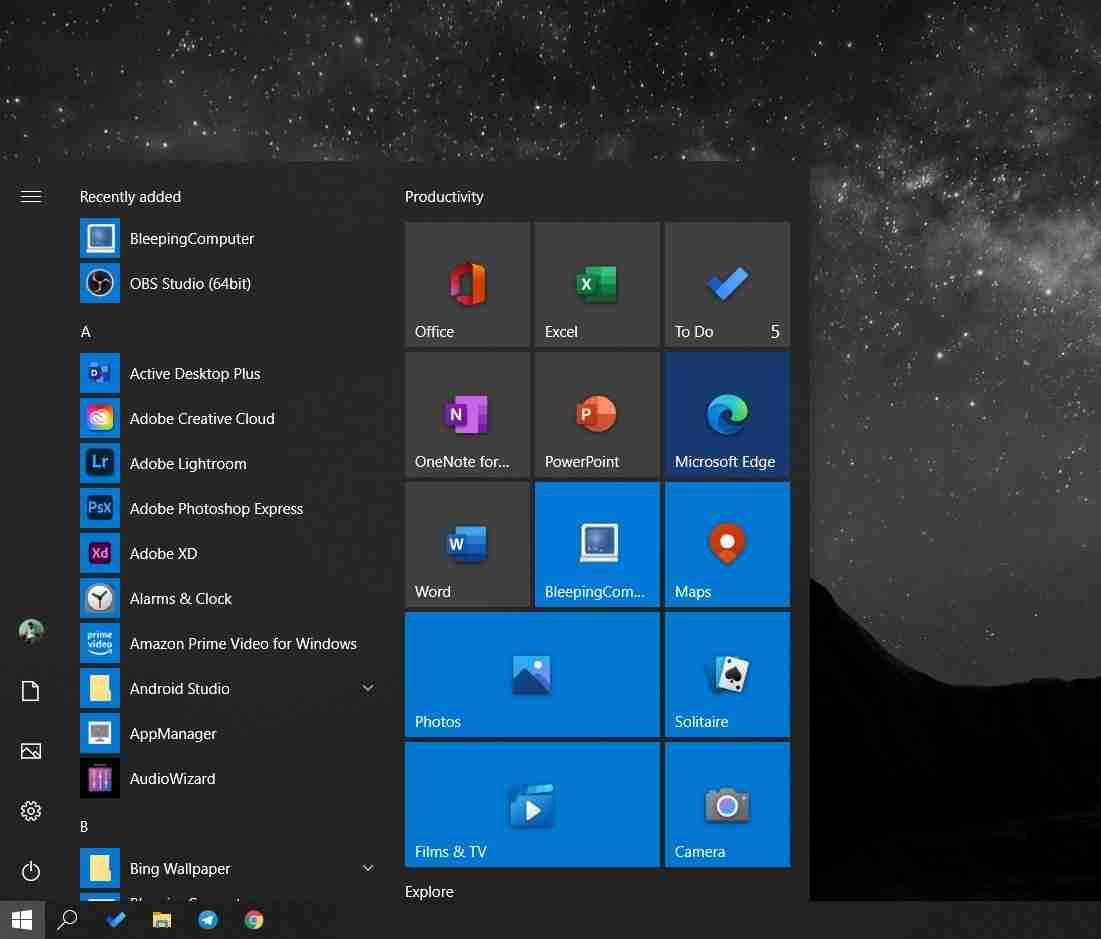 A Closer Look At Windows 10's Brand-New Start Menu