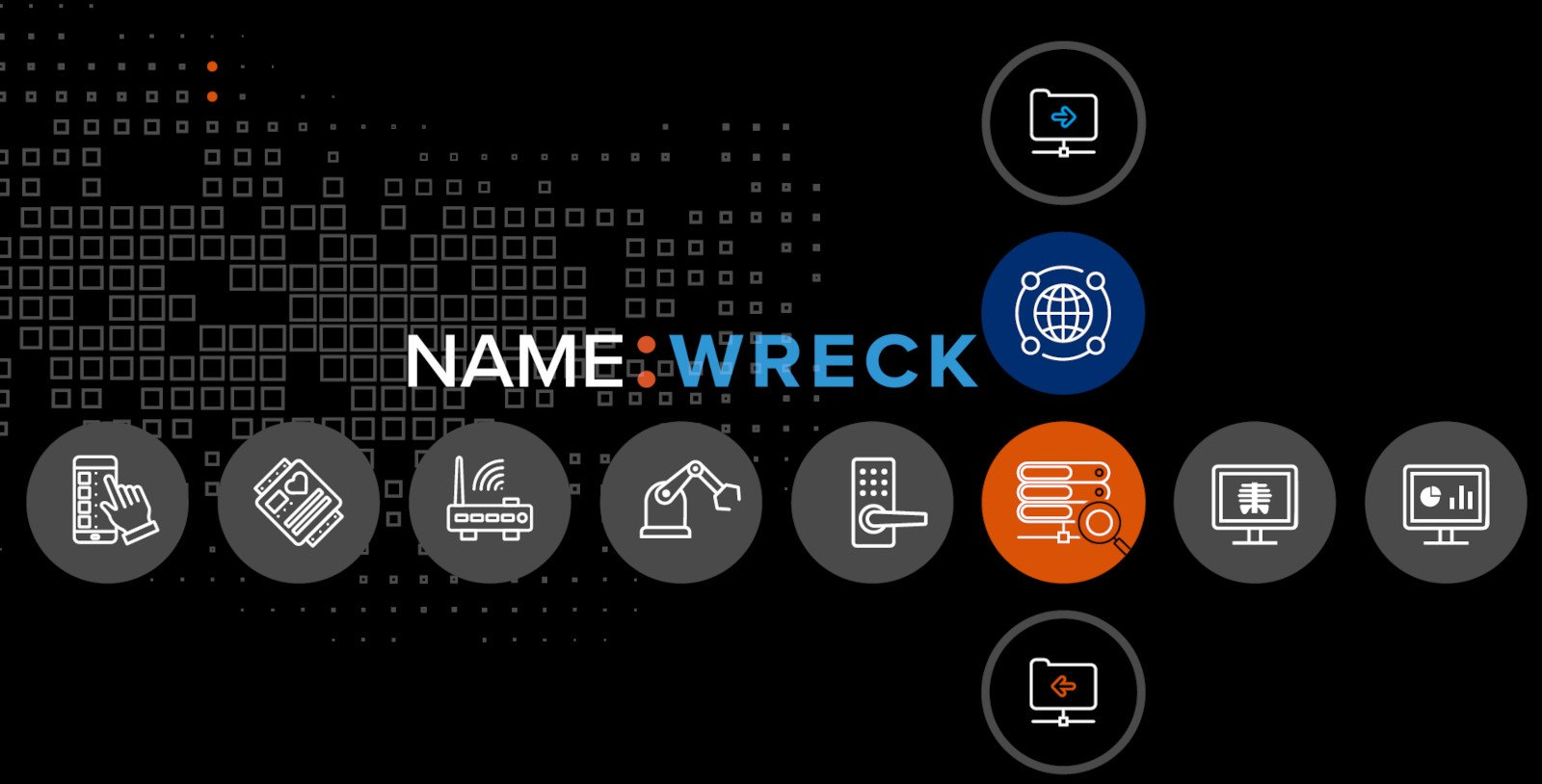 NAME:WRECK DNS Vulnerabilities Affect Over 100 Million Devices