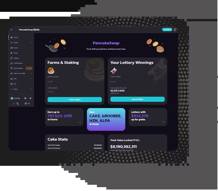 PancakeSwap Clone Software